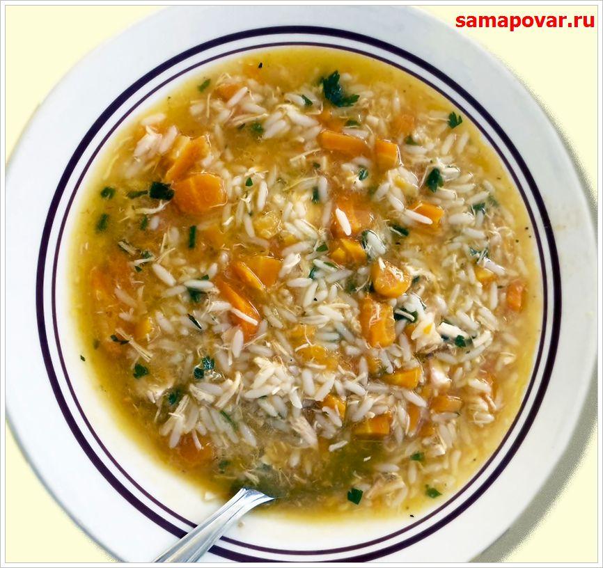 Суп рисовый по-бразильски